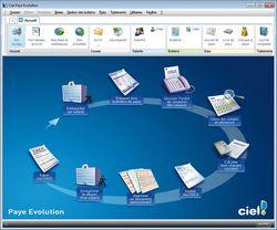 Ciel Paye Evolution 2013 screen1
