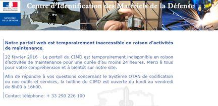 CIMD attaque Anonymous