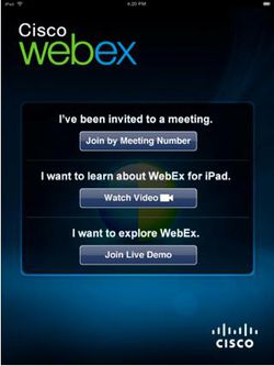 Cisco WebEx iPad 03