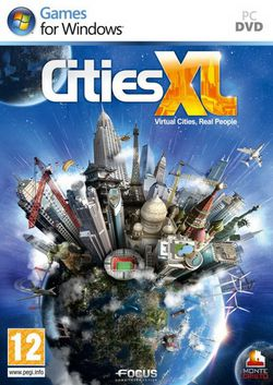 Cities XL - Jaquette