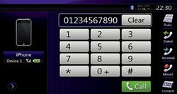 Clarion NZ501E Bluetooth