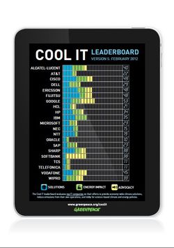 Classement Cool IT 2012 Greenpeace