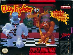 ClayFighter - Super Famicom - pochette