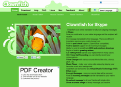 Clownfish screen2