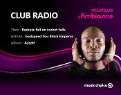 Club internet music choice