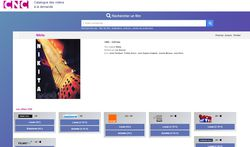 CNC moteur recherche VOD