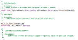 code iOS 8 capteurs météo