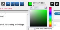 Collabshot screen 1