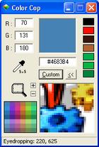 Color Cop : définir le code d'une couleur