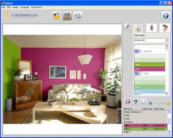 Colorplanner screen1.