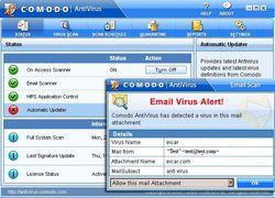Comodo Antivirus screen1