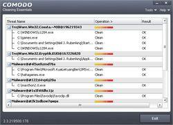 Comodo Cleaning Essentials screen2