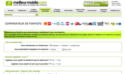 Comparateur Forfaits Mobiles