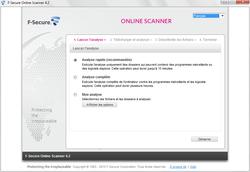 Comparatif  2011 : 11 antivirus en ligne à l\'essai ! f secureonline01