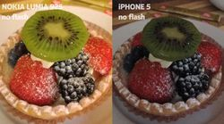 comparatif lumia 925 iphone5