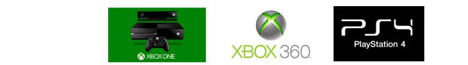 comparatif xbox one 360 ps4