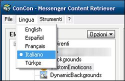 ConCon Messenger Content Retriever screen1