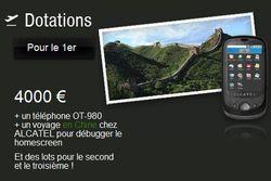 concours Alcatel OT980