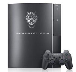 Console PS3 Cloud Black