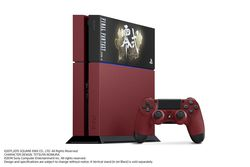 Console PS4 rouge - Final Fantasy Type-0 HD - 2