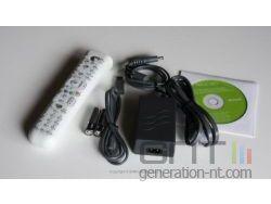 Contenu de la boite du lecteur HD-DVD Xbox 360