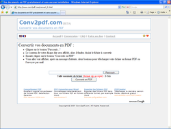 conv2pdf