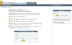 Copains pro page accueil