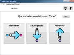 CopyTrans TuneSwift screen 1
