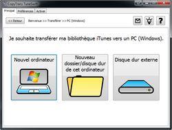 CopyTrans TuneSwift screen 2