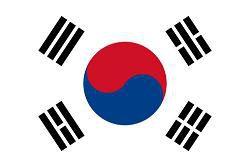 Coree Sud drapeau