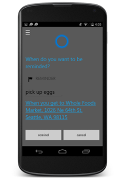 Cortana-Android-rappel