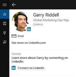 Cortana-LinkedIn