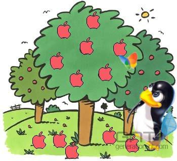 Course pomme
