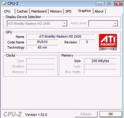 CPU onglet carte graphique