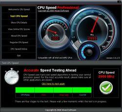 CPU Speed screen1