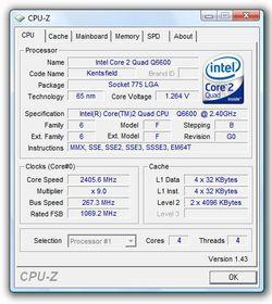 CPU Z 1.43