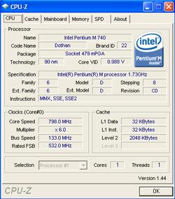 CPU Z 1.44
