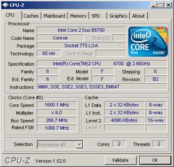 CPU Z 1.52