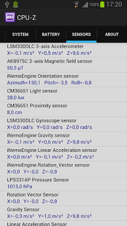 CPU-Z-Android-Sensors