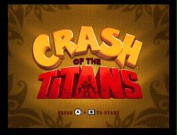 Crash of the Titans Wii