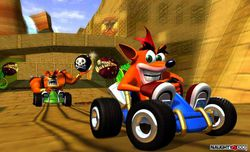 Crash Team Racing - artwork