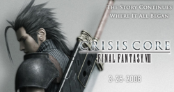 Crisis Core : Final Fantasy VII   lancement USA