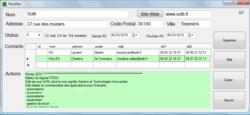 CRM gestion de contacts YODA