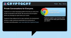 Cryptocat pour Chrome screen2
