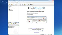 CryptoHeaven screen1