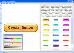 Crystal Button screen 2