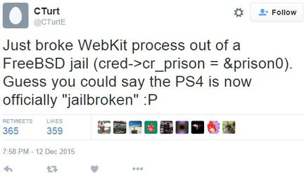 Cturt jailbreak PS4