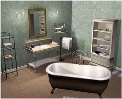 Cuisine et Salle de bains 3D screen 2