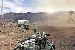 Curiosity eau sur Mars