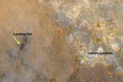 Curiosity sur Mars 2